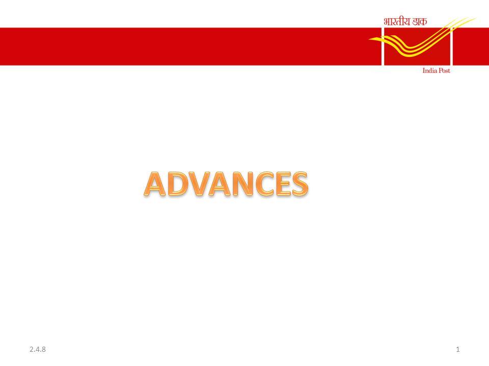 NON-INT BEARING ADVANCES 1.Festival Advance 2.Flood/Drought Advance 3.Cycle Advance 4.Warmcloth Advance 2.4.82