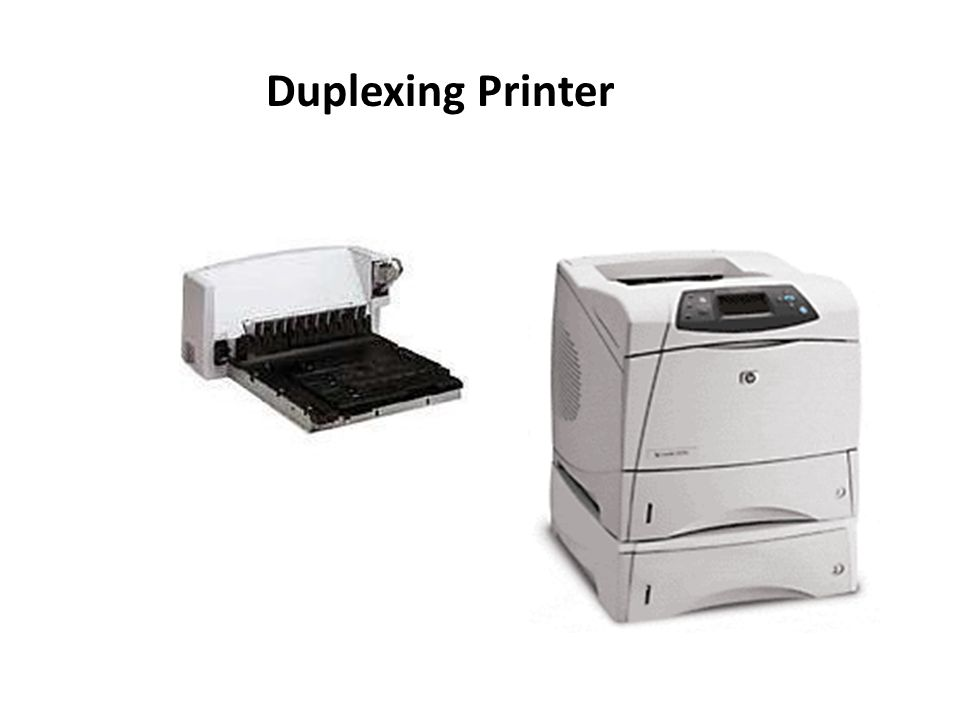 Duplexing Printer