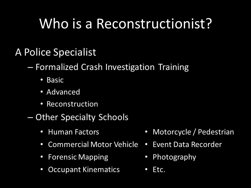 Who is a Reconstructionist.