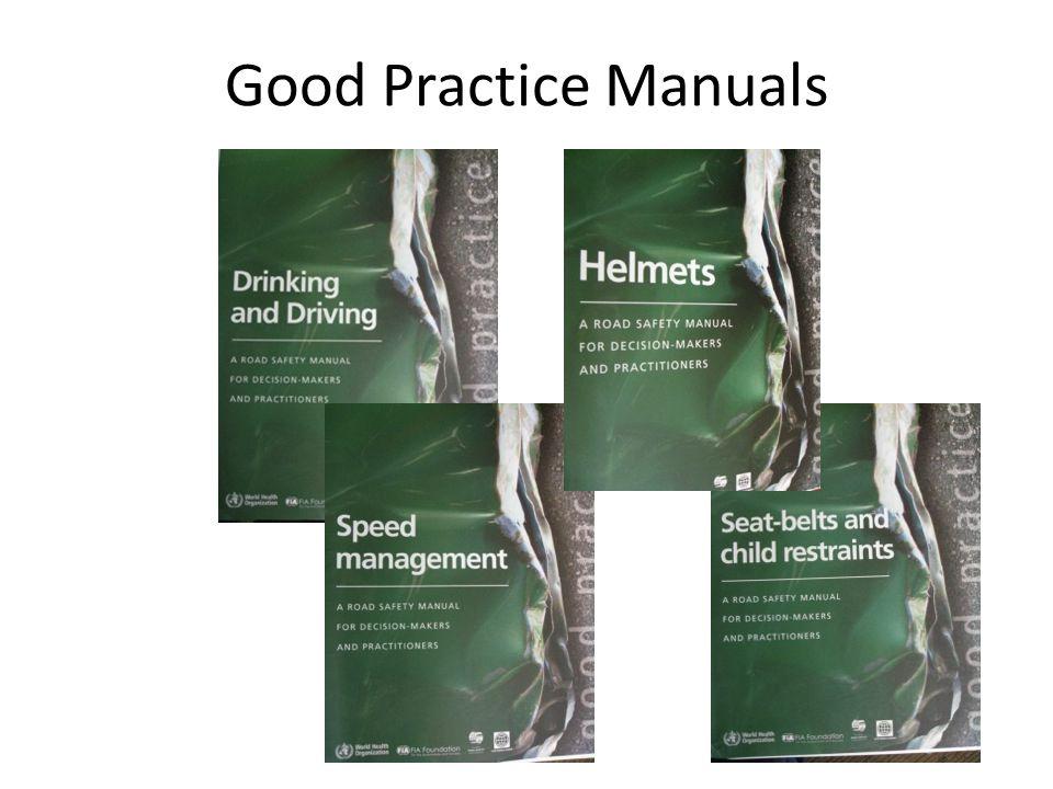 Good Practice Manuals