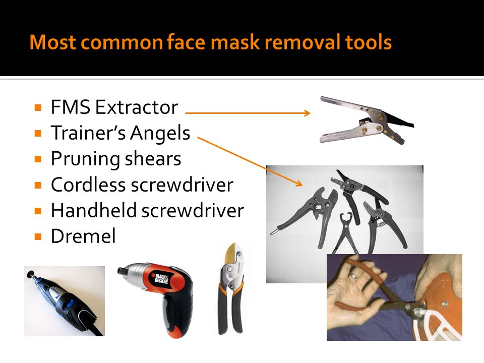  FMS Extractor  Trainer's Angels  Pruning shears  Cordless screwdriver  Handheld screwdriver  Dremel