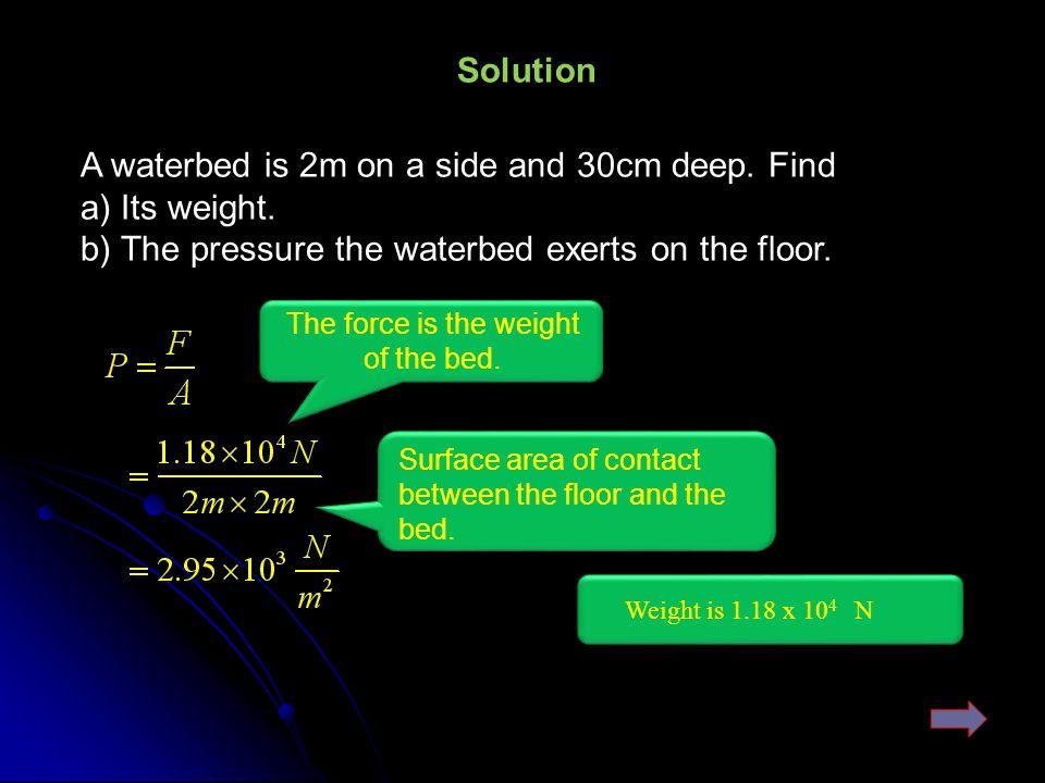 Same fluid Now since Force=pressure × Area Pressure vs.