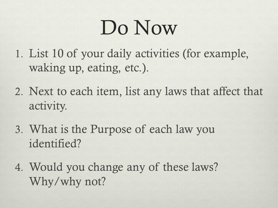 Unit 1: What is Law? Mr. Concannon Smith