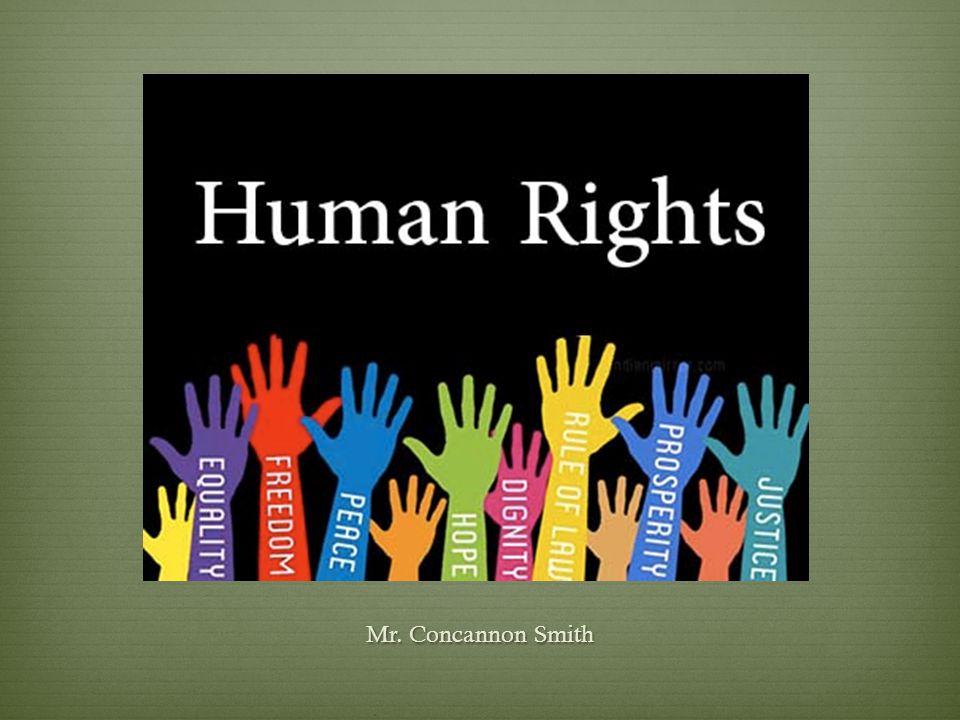 The Criminal Justice Process Mr. Concannon Smith