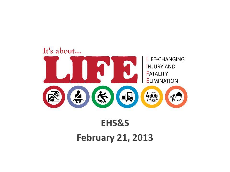 EHS&S February 21, 2013