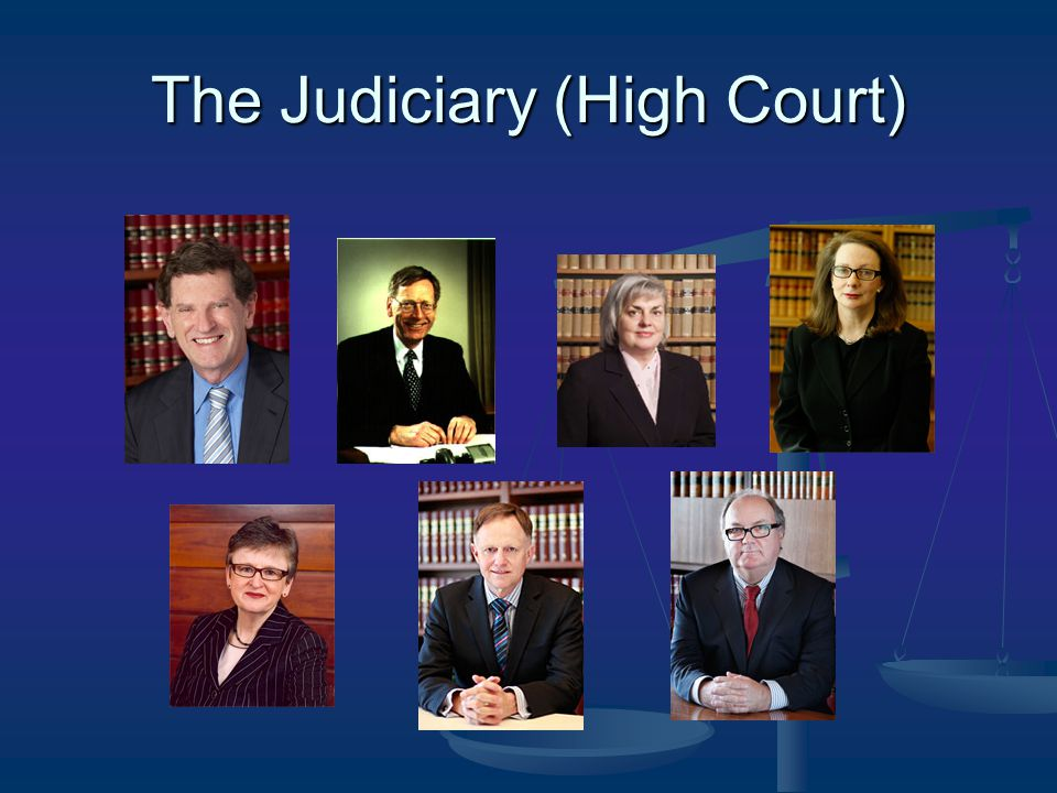 The Judiciary (High Court)