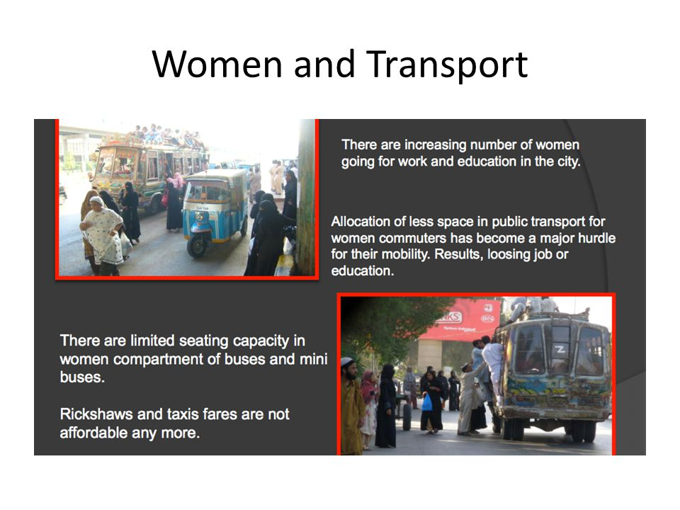 Women and Transport