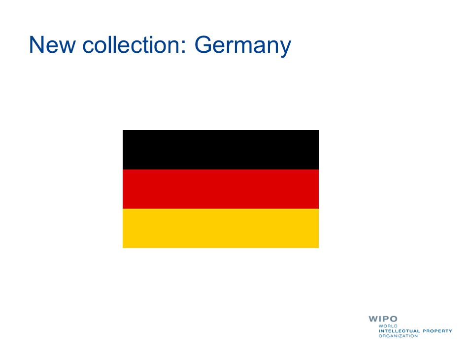 New collection: Germany