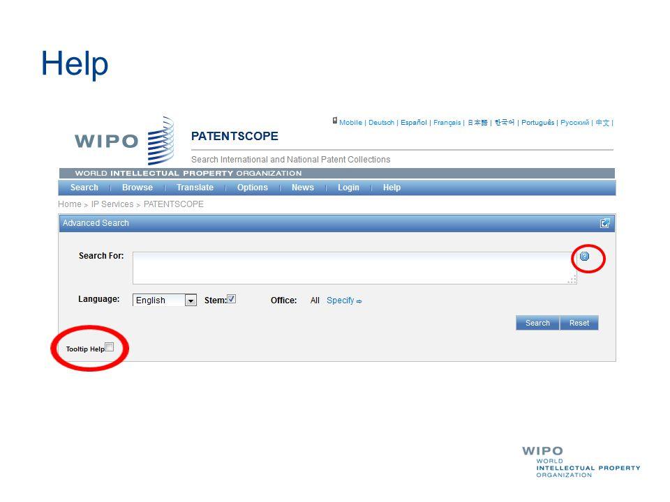 Slides www.wipo.int/patentscope/en/webinar/index.html