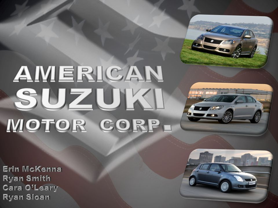 MARKET o generation y low-moderate income in search of reliable car o Suzuki motorcyclists capitalize on brand loyalty use of Suzuki s brand year round o low income professionals located in cities and urban centers in need of a compact vehicle for parking and decent fuel economy o young outdoor and adventure seeking north americans whose climates are seasonal