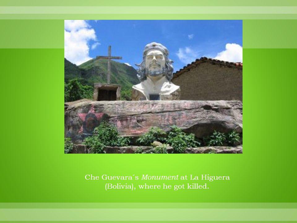 Che Guevara´s Monument at La Higuera (Bolivia), where he got killed.