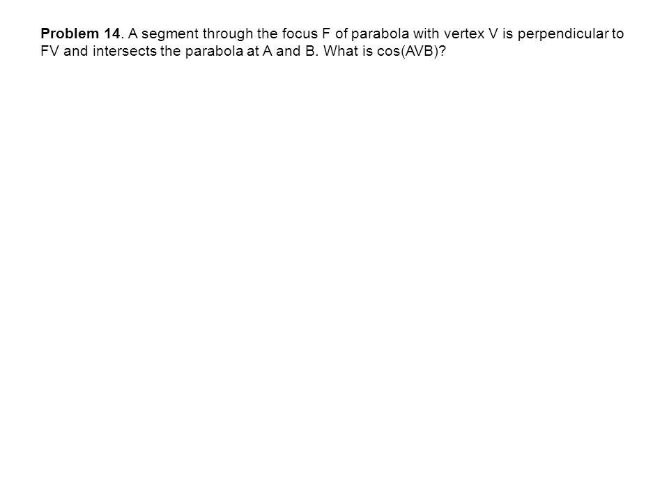 Problem 14.