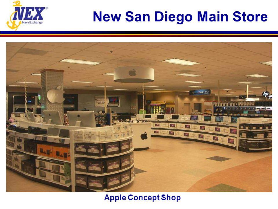 Apple Concept Shop New San Diego Main Store