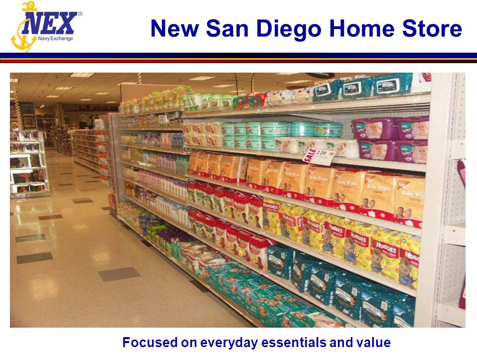 Focused on everyday essentials and value New San Diego Home Store