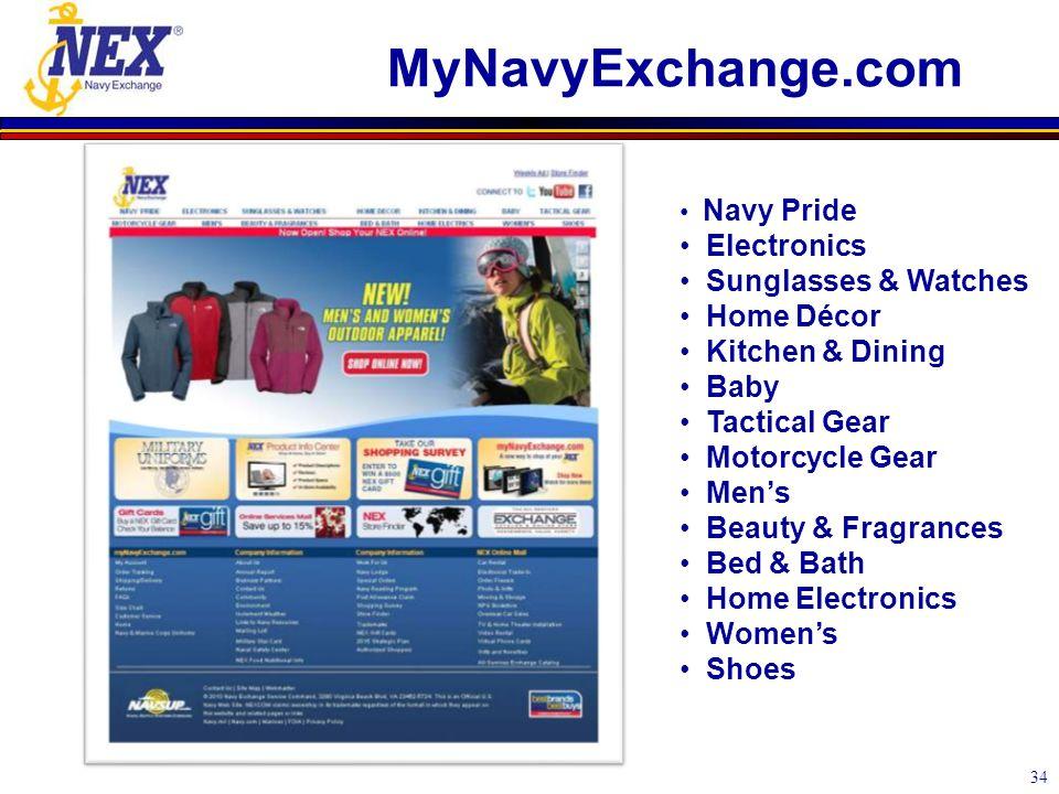 MyNavyExchange.com 34 Navy Pride Electronics Sunglasses & Watches Home Décor Kitchen & Dining Baby Tactical Gear Motorcycle Gear Men's Beauty & Fragra