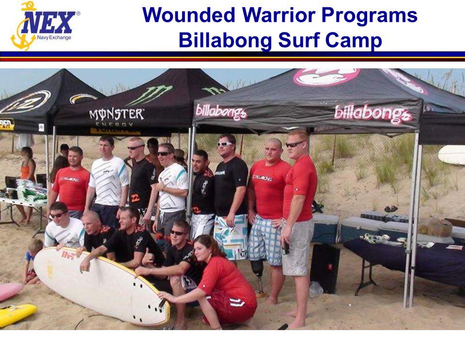 Wounded Warrior Programs Billabong Surf Camp