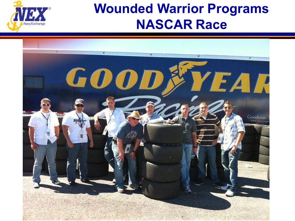 Wounded Warrior Programs NASCAR Race