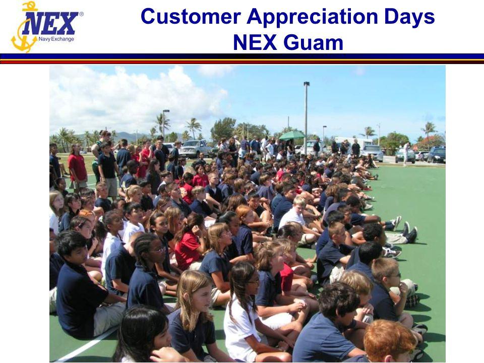 Customer Appreciation Days NEX Guam