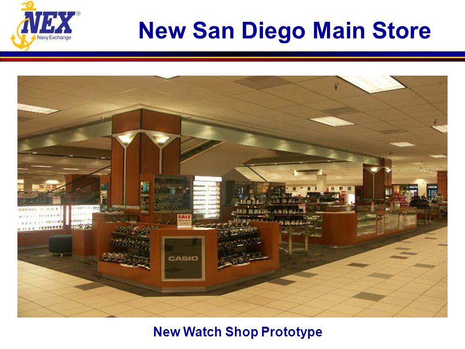 New Watch Shop Prototype New San Diego Main Store