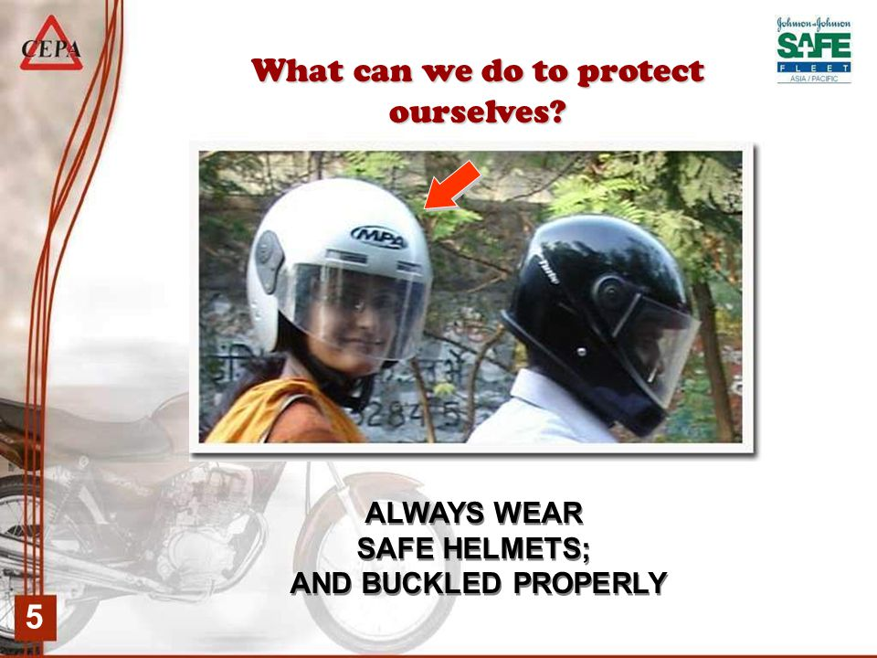 6 Certified Helmet Safety Facts The helmet is the rider's most important protective gear.