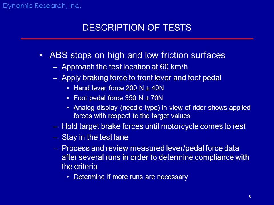 19 METHODS Dynamic Research, Inc. Kawasaki ZZR1400 showing magnetic pickup speed sensor