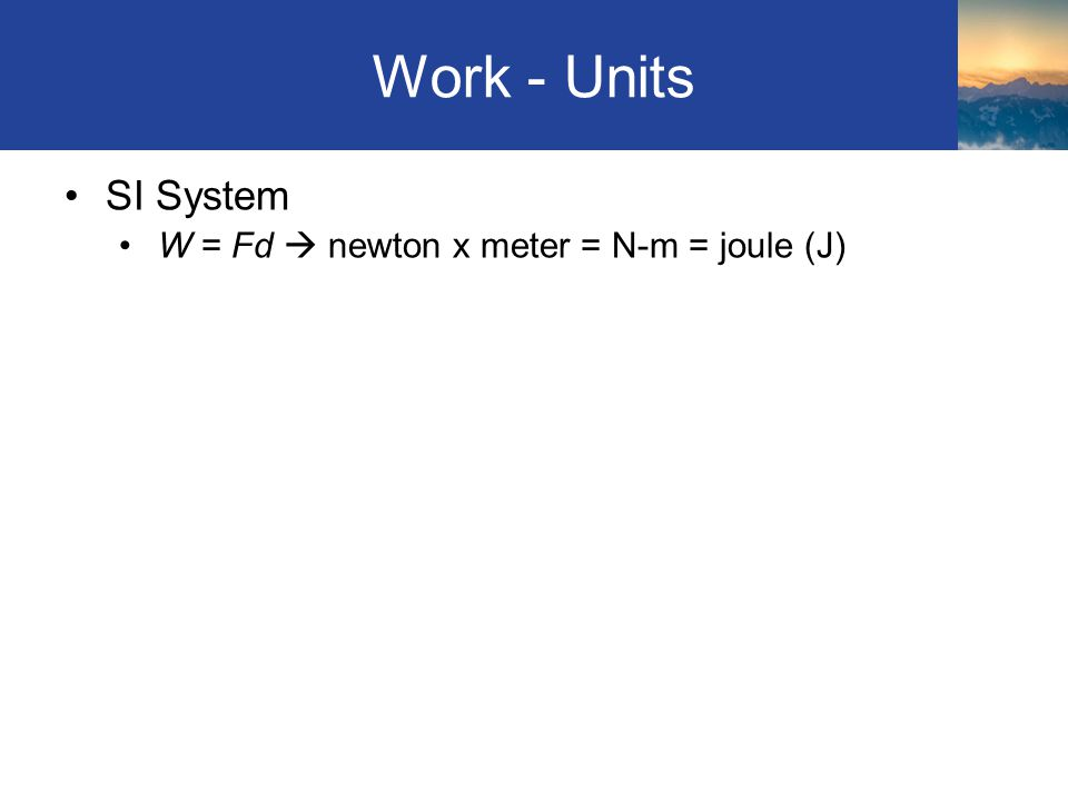 Electrical Energy Used E = Pt (rearranging the equation) Power (P) given in W (watts) => J/s Therefore: Pt is (J/s)(s) = W.