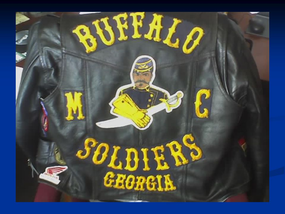 The Buffalo Soldiers Motorcycle Club of Georgia