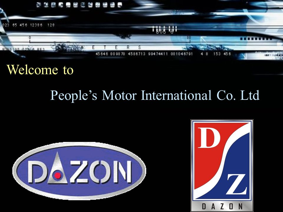 People's Motor International Co. Ltd Welcome to