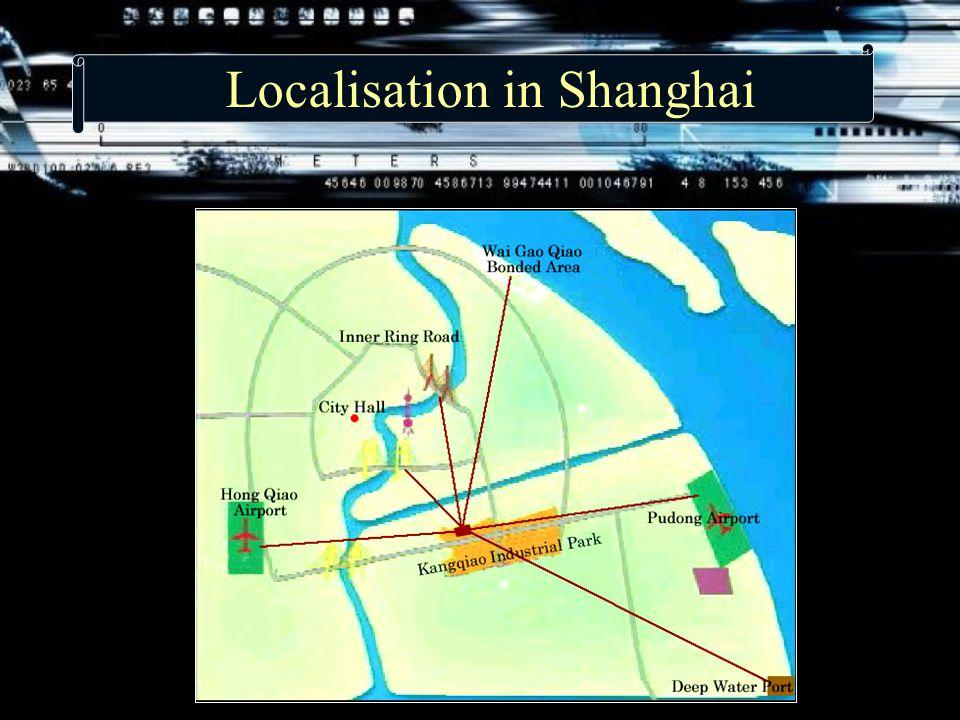 Localisation in Shanghai