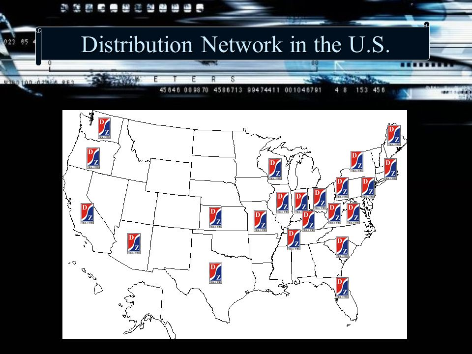 Distribution Network in the U.S.