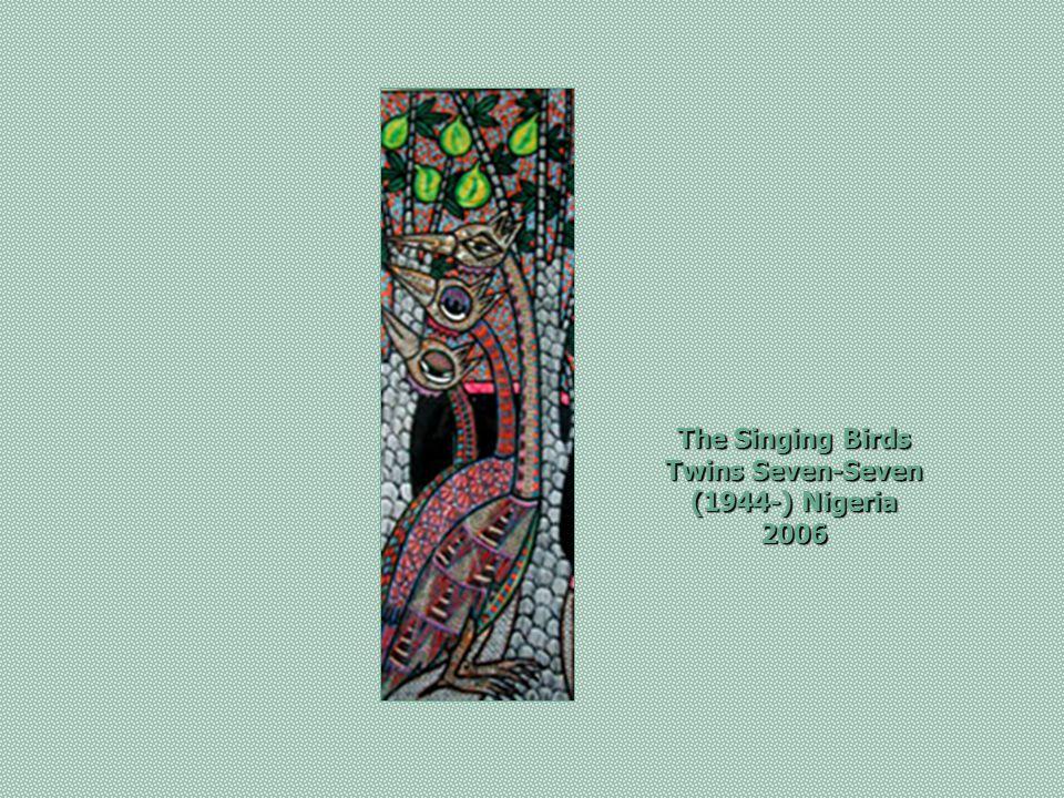 Animals in Political Conference Twins Seven-Seven (1945 -), Oshogbo, Nigeria