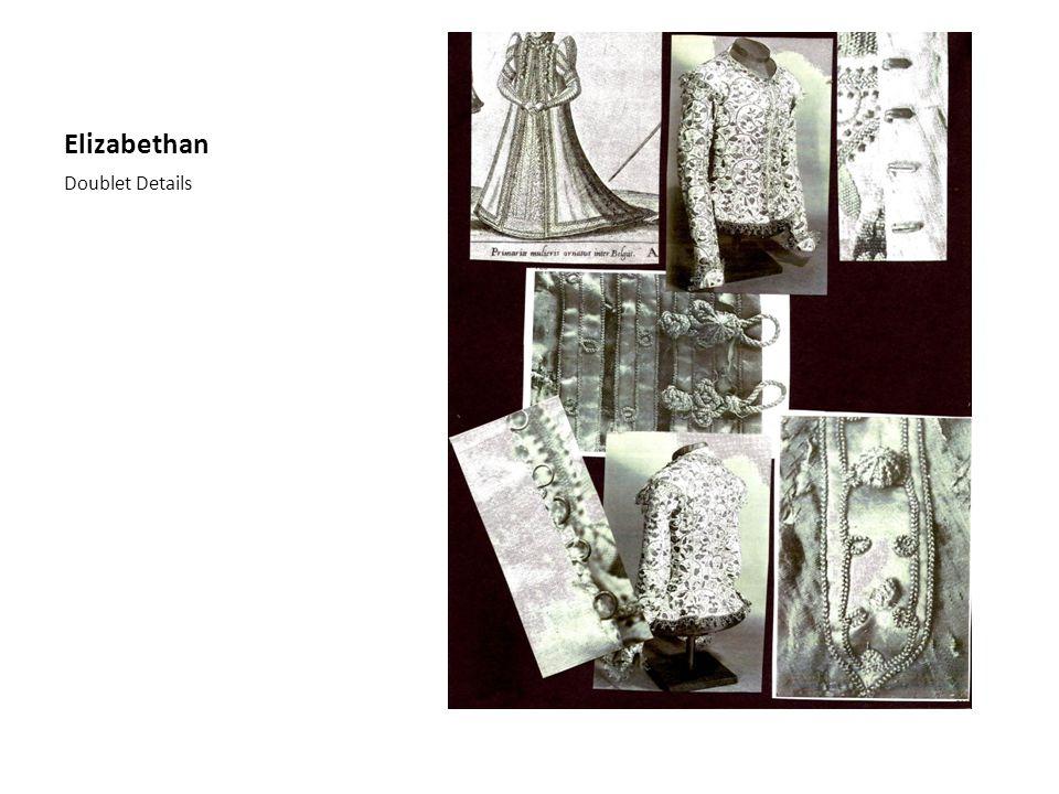 Elizabethan Doublet Details
