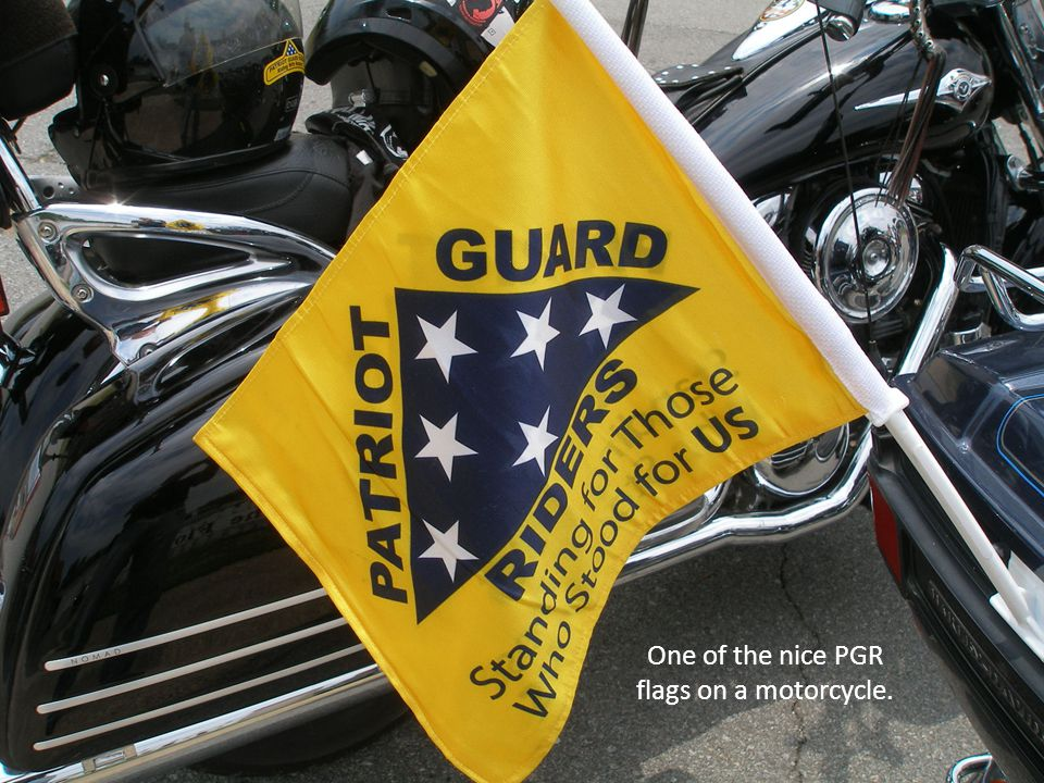 An ex-Army Ranger decorated his bike with the right decals.
