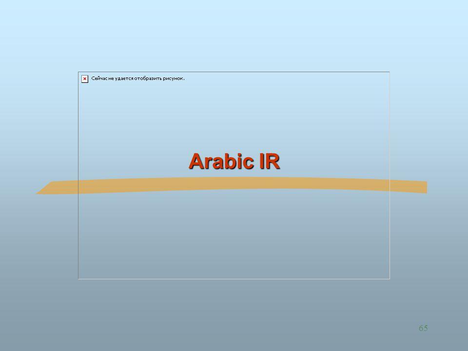 65 Arabic IR