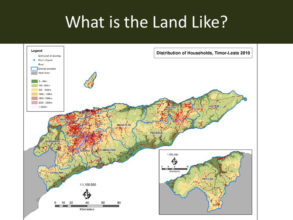What is the Land Like?