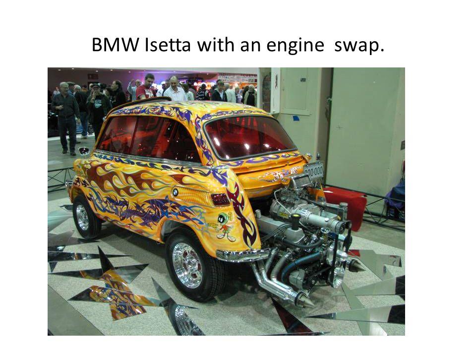 BMW Isetta with an engine swap.