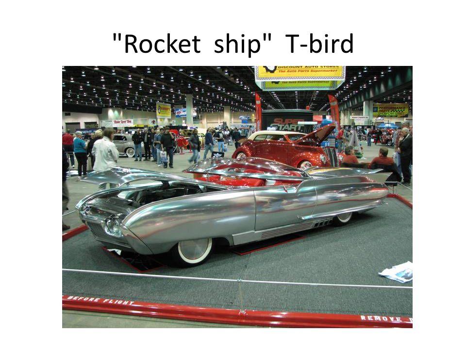 Rocket ship T-bird