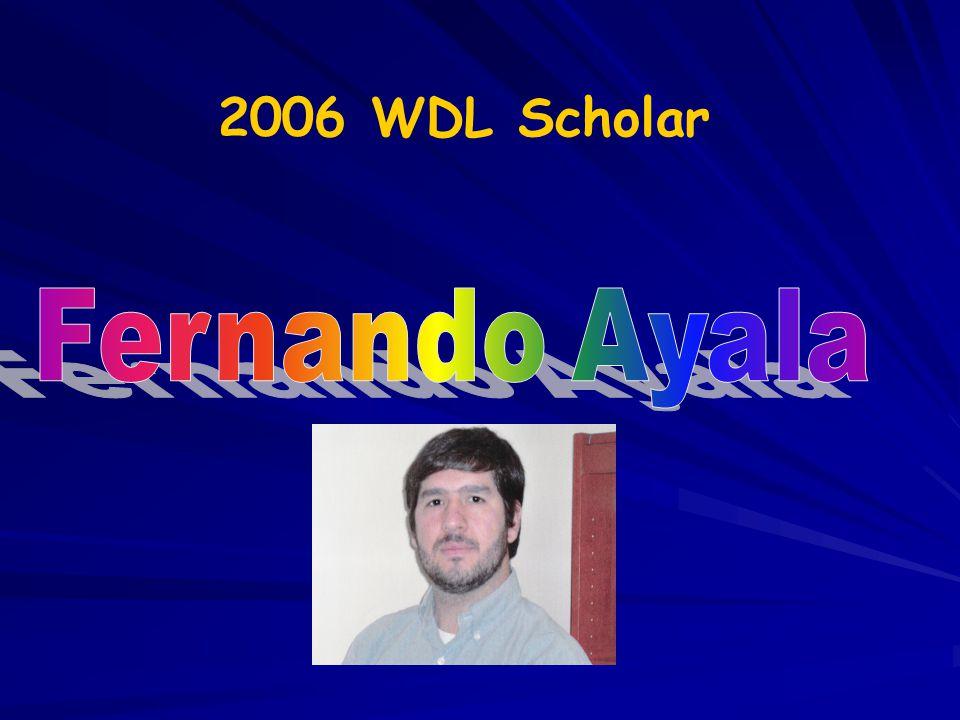 2006 WDL Scholar