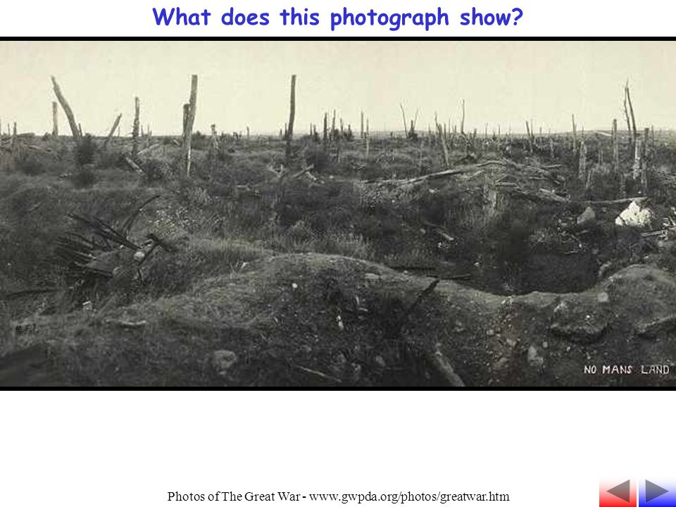 What does this photograph show? Photos of The Great War - www.gwpda.org/photos/greatwar.htm
