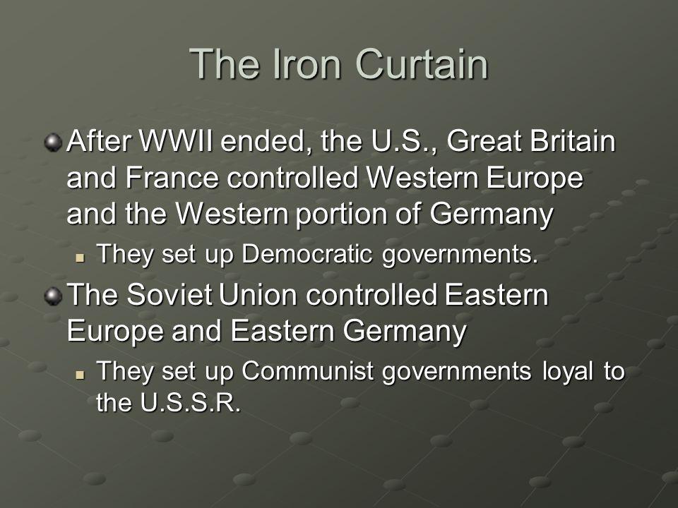 Communism The U.S.