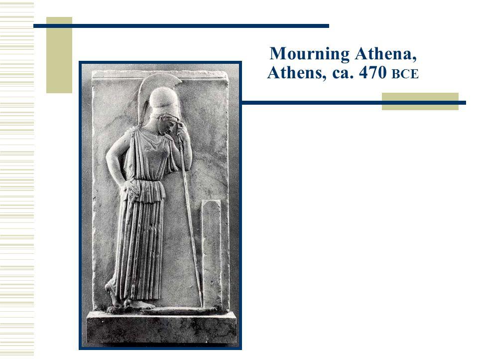 Mourning Athena, Athens, ca. 470 BCE