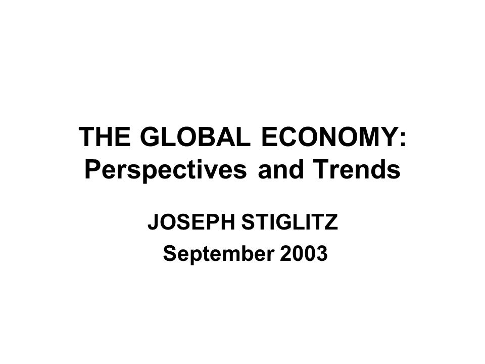 BACKGROUND THE GLOBAL ECONOMY HAS BEEN WEAK FOR SEVERAL YEARS –FIRST GLOBAL RECESSION OF NEW ERA OF GLOBALIZATION WITH SIMULTANEOUS RECESSIONS/SLOWDOWNS IN EUROPE, AMERICA, AND JAPAN AND EMERGING MARKETS FEELING THE CONSEQUENCES