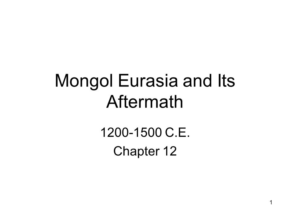 The Rise of the Mongols 1200-1260 Nomadism in Central and Inner Asia –Nomadic groups depended on scarce _____ and _______ resources; in times of scarcity, conflicts occurred, resulting in the ______________ of smaller groups and in the formation of alliances and out-migration.