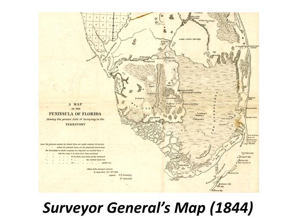 Surveyor General's Map (1844)
