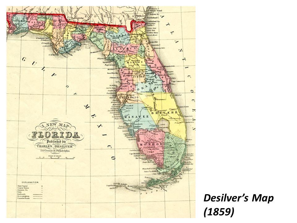 Desilver's Map (1859)
