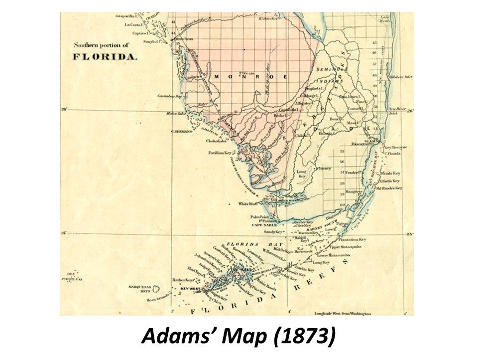 Adams' Map (1873)