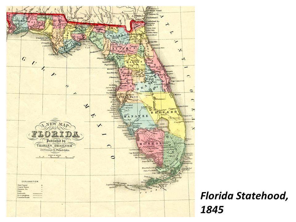 Florida Statehood, 1845