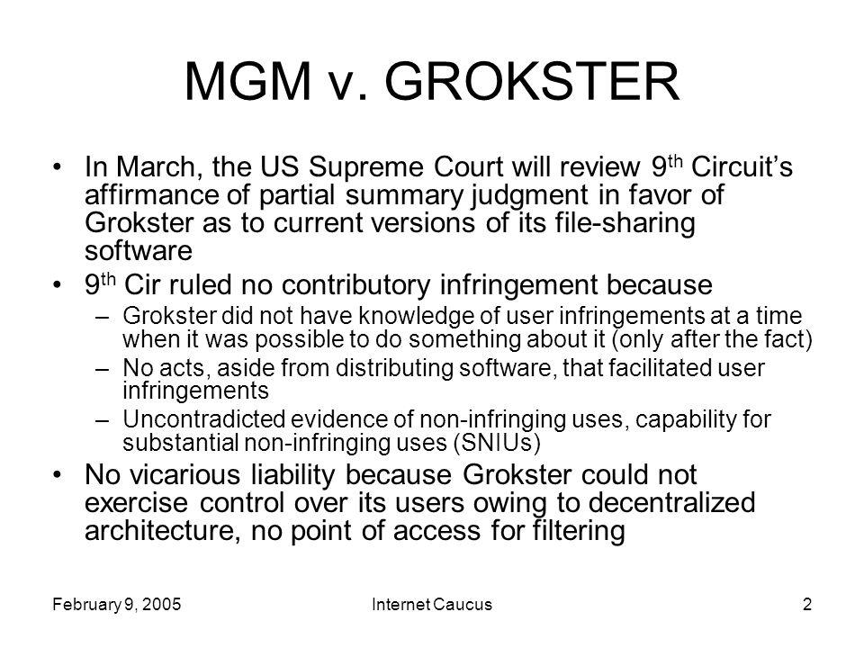 Internet Caucus2 MGM v.