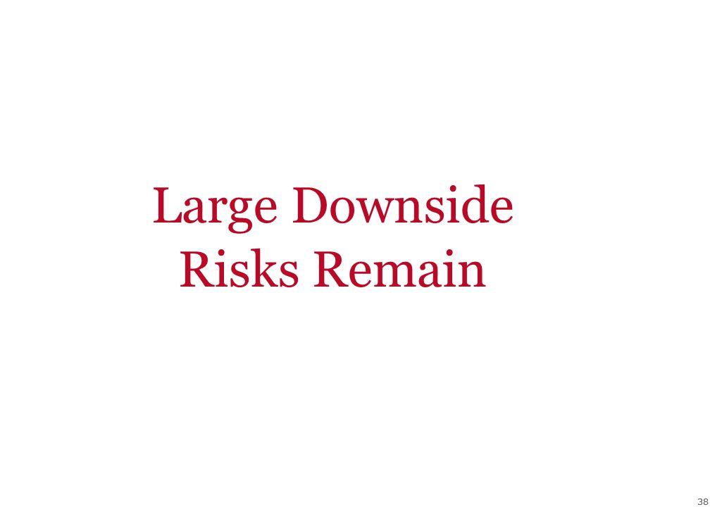 38 Large Downside Risks Remain