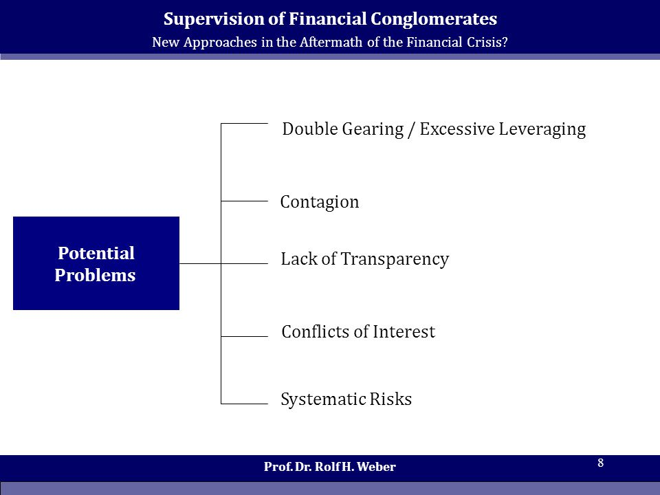 New Approaches in the Aftermath of the Financial Crisis.